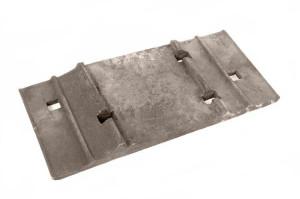 подкладка для скрепления рельс